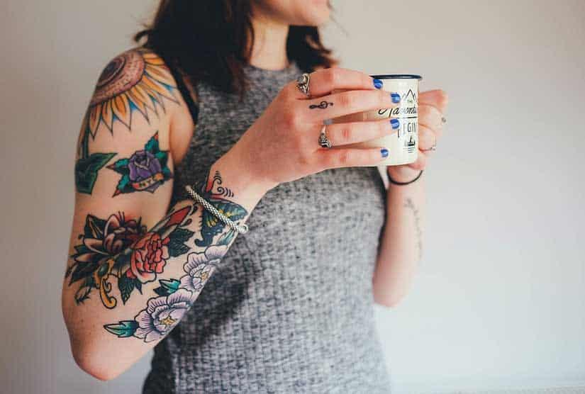 Rimozione tatuaggi: è possibile eliminare quelli colorati?