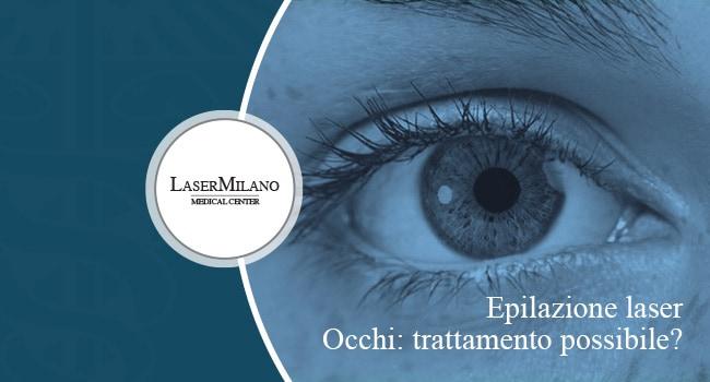 epilazione laser occhi