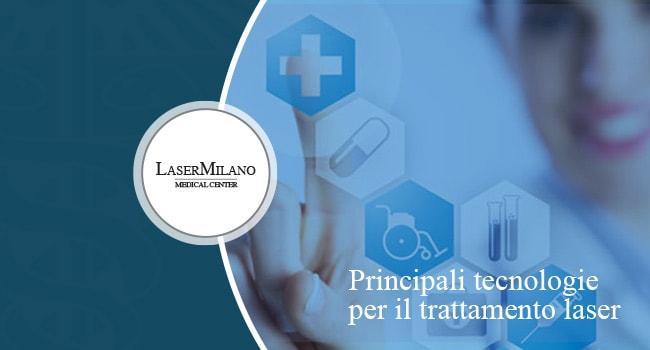 principali tecnologie per l'epilazione laser definitiva
