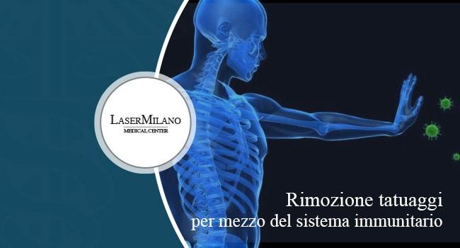 rimozione tatuaggi tramite sistema immunitario del corpo umano