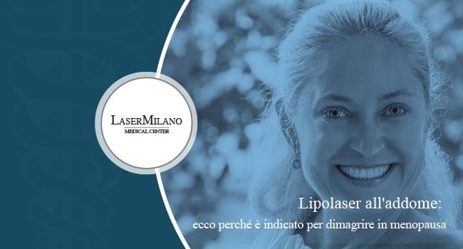 lipolaser addome menopausa