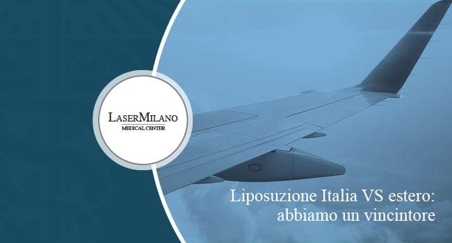 liposuzione laser italia o estero: dove costa meno