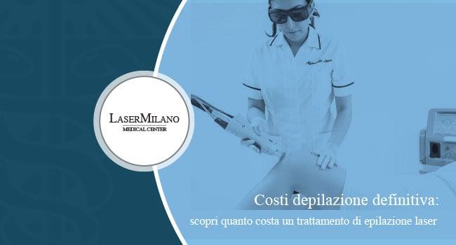 depilazione laser costi uomo definitiva