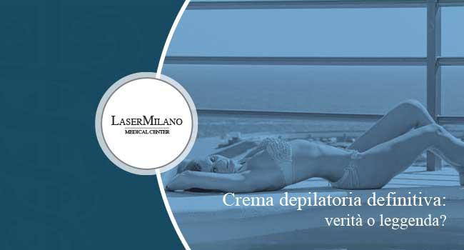 crema depilatoria definitiva: crema depilatoria o rasoio uomo